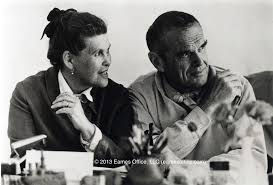 charles and ray eames tag archdaily happy birthday charles eames ray and charles eames image copy eames office