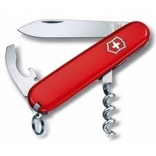 "<b>Нож перочинный</b> ""<b>Waiter</b>"" 9 функций красный бренда Victorinox ..."