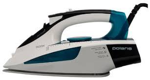<b>Утюг Polaris PIR 2695AK</b> 2600Вт белый/бирюзовый