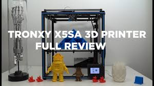 <b>Tronxy X5SA 3D printer</b> review - Terminator T800 Arm 3D printed ...