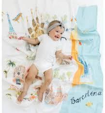 """<b>Детская муслиновая пелёнка</b> """"Барселона"""" - Постельные ..."""