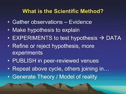 jones scientific method