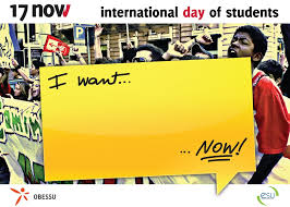 The International Day of Students - 17th November