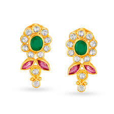 Buy Gold <b>Earrings</b> Online in Latest Designs at Best Prices   Buy ...