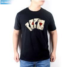 <b>KOLVONANIG 2019</b> New Summer Dress <b>Men's</b> T Shirt Poker ...