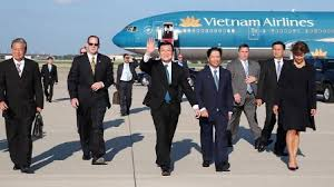 Image result for hình Truong Tấn Sang sang Hoa Kỳ