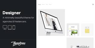 Designer - Professional WordPress Portfolio Theme by ...