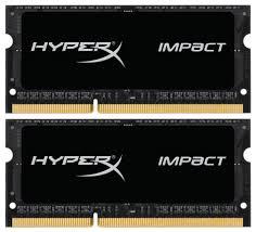 <b>Модуль памяти</b> KINGSTON <b>HyperX</b> Impact <b>HX318LS11IBK2</b>/<b>16</b> ...