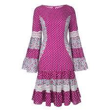 <b>Rosetic Vintage</b> Lolita Sweet <b>Women</b> Mermaid <b>Dress</b> Floral Dots ...