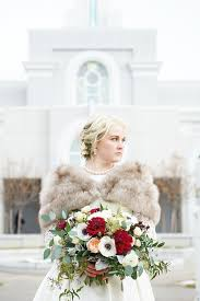 <b>Scandinavian Style</b> White & Red Winter Wedding Flowers | Pleasant ...