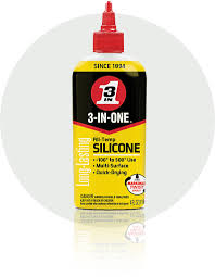 <b>Silicone</b> Oil | All-Temp, Fast-Drying, No-Mess | <b>3-IN-ONE</b>