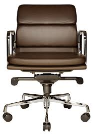 wobi clyde lowback leather chair brown traditional office chairs brown leather office chairs