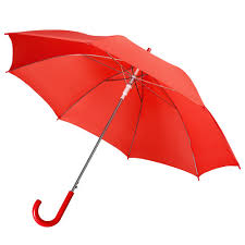 <b>Зонт</b>-трость <b>Unit Promo</b>, красный с логотипом - купить в СПб и ...