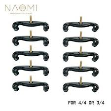 <b>NAOMI 10PCS</b> Violin Shoulder Rest Feet <b>For</b> 3/<b>4 4</b>/<b>4</b> Violin Parts ...