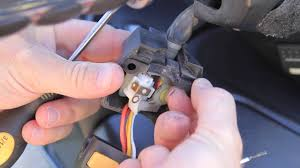 <b>Turn</b> Signal/Headlight <b>Switch</b> Disassembly & Cleaning Procedure ...