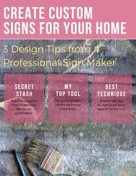 how to create a reclaimed wood sign using your own handwriting pdf for sign makers