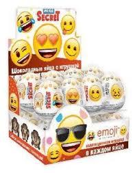 <b>Шоколадное яйцо</b> Сладкая Сказка <b>Emoji</b> с игрушкой, молочный ...