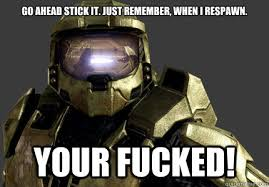 master chief meme memes | quickmeme via Relatably.com