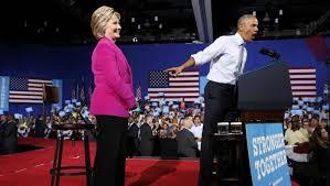 pour leur premier meeting barack obama fait lloge dhillary clinton apras le discours de celle qui