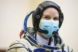 NASA <b>astronaut</b> plans to cast her ballot from <b>space</b> station