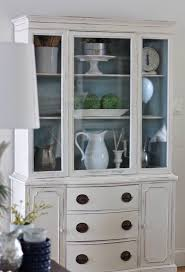 Corner Kitchen Hutch White 17 Best Ideas About Painted Hutch On Pinterest Hutch Makeover