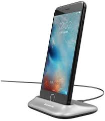 <b>Baseus Little Volcano</b> Charging Dock Station + Cable For iPhone 8 ...