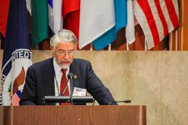 nations letting go of competition to collaborate in space click on photo to enlarge or john holdren director of white house office