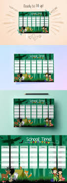 best ideas about school timetable lit timetable school timetable