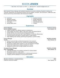 15 product manager resumes template job and resume template product manager brand manager resume sample