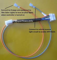 wiring diagram for meyers snow plow lights the wiring diagram meyer plow help meyer plow wiring identification information wiring diagram