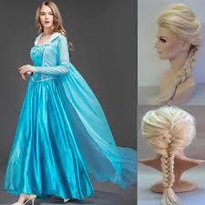 <b>New</b> Adult <b>Princess Anna Elsa Princess</b> Dress Queen <b>Anna</b> ...