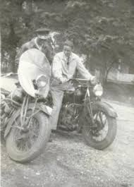 "Malcolm ""Wayne"" & his youngest brother, Otho ""Lee"". Undated. Stephen L. Robinson ... - othowaynecycles"