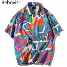 <b>Bebovizi</b> Brand Tees Summer Japanese Style <b>Hip Hop</b> Streetwear ...