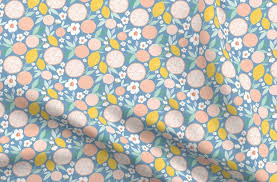Indy bloom <b>design Grapefruit</b> Lemon B - Spoonflower
