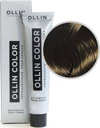 <b>OLLIN COLOR</b> 6.0 темно-русый 60мл <b>Перманентная</b> крем-краска ...