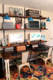 easy rustic wall shelves tutorial build rustic office