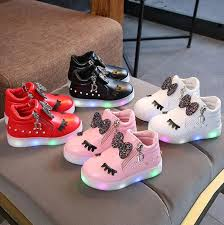 KKABBYII Hot Sale Children Glowing <b>Shoes</b> Kids Princess <b>Girls</b> Led ...