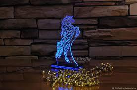 <b>Статуэтка с подсветкой</b> Лошадь – купить на Ярмарке Мастеров ...