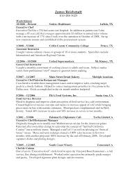 resume example college of culinary resume examples kitchen resume example resume cover letter culinary internship resume and cover letter examples listed by job