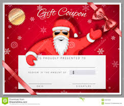 santa gift certificate template resume builder santa gift certificate template christmas certificates printable certificates gift certificate template as coupon
