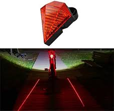 <b>Bicycle Laser Taillight 3</b> Modes USB Rechargeable Flash Tail Rear ...