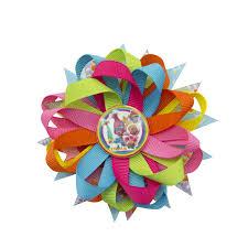 "<b>Adogirl</b> 4 <b>5</b>"" Cartoon Paster Rainbow Ribbon Flowers Hairpins Cute ..."
