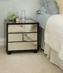 ideas bedside tables pinterest night: bedroom design awesome lombard beveled mirror bedside table design unique bedside tables
