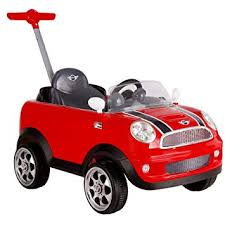 ROLLPLAY Push Car with Adjustable <b>Footrest</b>, For Children 1 Year ...
