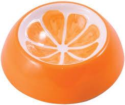 <b>КерамикАрт миска керамическая для</b> грызунов 10 мл Апельсин