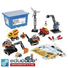 45002 Конструктор Lego Education <b>Строительные машины</b> ...