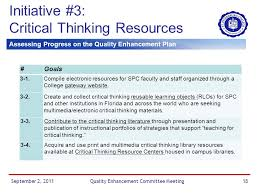And one of our QEP flyers   I designed this one   Foundation for Critical Thinking