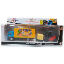 <b>Wincars</b> U1402E-2 Автофургон с погрузчиком, Игрушечные ...