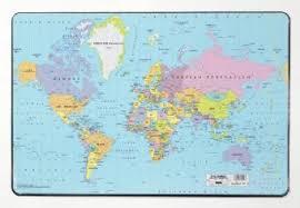 Нескользящее настольное покрытие Карта Мира Durable 7211 ...