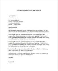 sample thank you letter to boss 16 documents in word employer thank you letter to boss